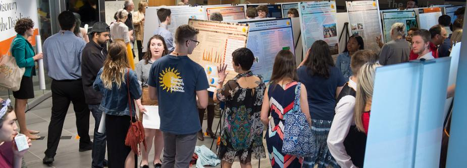 Poster Session at Undergraduate Research Conference